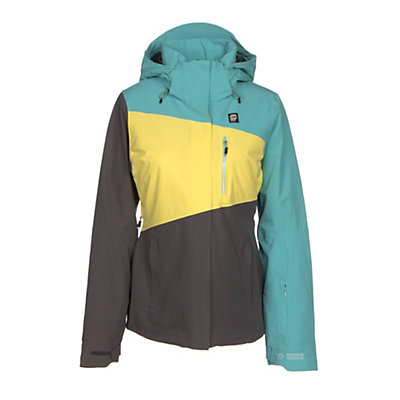 Orage Nina Womens Insulated Ski Jacket, Light Lagoon, viewer