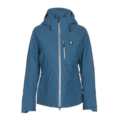 Orage Grace Womens Insulated Ski Jacket, Denim, viewer