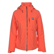 Orage Grace Womens Insulated Ski Jacket, Guava, medium