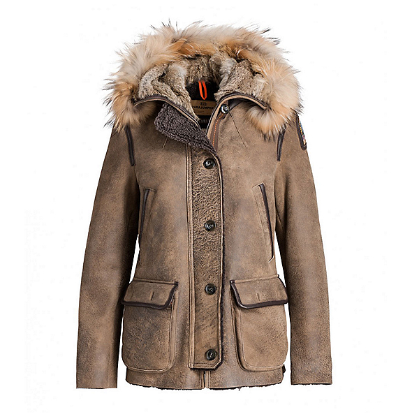 Parajumpers Janies Womens Jacket, Brown, 600
