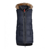 Parajumpers Iris Womens Vest, Dark Indigo, medium
