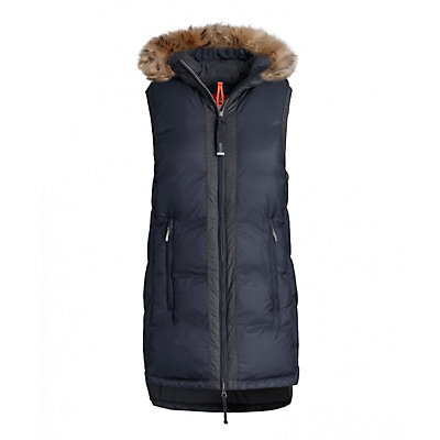 Parajumpers Iris Womens Vest, Dark Indigo, viewer