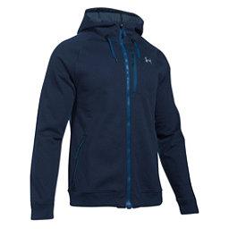 Under Armour ColdGear Infrared Dobson Mens Soft Shell Jacket, Midnight Navy-Overcast Gray, 256