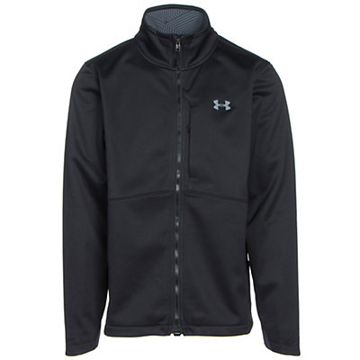 Under Armour ColdGear Infrared Softershell Mens Soft Shell Jacket, Maverick Brown-Graystone, viewer