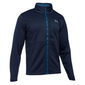 Under Armour ColdGear Infrared Softershell Mens Soft Shell Jacket, Midnight Navy, medium