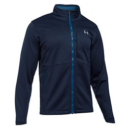 Under Armour ColdGear Infrared Softershell Mens Soft Shell Jacket, Midnight Navy, 256