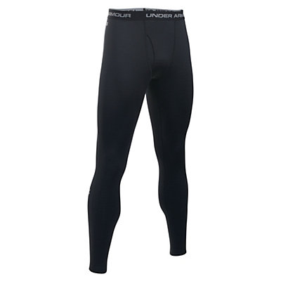 Under Armour Base 2.0 Mens Long Underwear Pants, Black-Steel, viewer