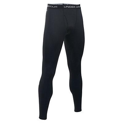 Under Armour Base 2.0 Mens Long Underwear Pants, Black-Steel, viewer