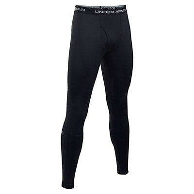 Under Armour Base 4.0 Mens Long Underwear Pants, Black-Steel, viewer