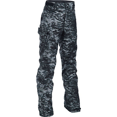 Under Armour ColdGear Infrared Chutes Kids Ski Pants, Overcast Gray-Black-Overcast G, viewer