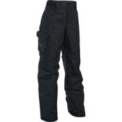 Under Armour ColdGear Infrared Chutes Kids Ski Pants, Black-Black-Graphite, medium