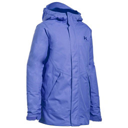 Under Armour ColdGear Infrared Powerline Insulated Girls Ski Jacket, Violet Storm-Caspian-Caspian, 256