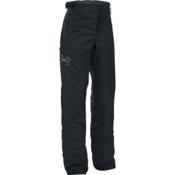Under Armour ColdGear Infrared Chutes Girls Ski Pants, Black-Glacier Gray, medium