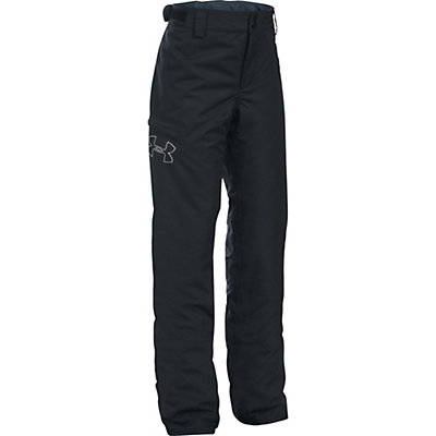 Under Armour ColdGear Infrared Chutes Girls Ski Pants, White-Stealth Gray, viewer