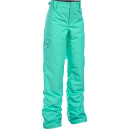 Under Armour ColdGear Infrared Chutes Girls Ski Pants, Crystal-Stealth Gray, 256