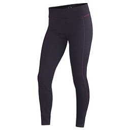 Terramar Thermawool Womens Long Underwear Pants, Purple Heather, 256