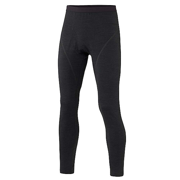 Terramar Thermawool Mens Long Underwear Pants, Smoke Heather, 600