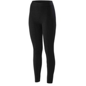 Terramar Seamless Footless Legging 3.0 Womens Long Underwear Pants, Black Cable, medium