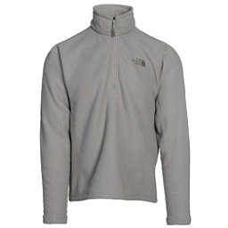 The North Face SDS Half Zip Pullover Mens Mid Layer, Moon Mist Grey, 256