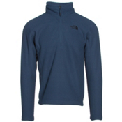 The North Face SDS Half Zip Pullover Mens Mid Layer, Shady Blue, medium