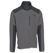 The North Face Apex Pneumatic Mens Soft Shell Jacket, Fusebox Grey-Asphalt Grey, medium