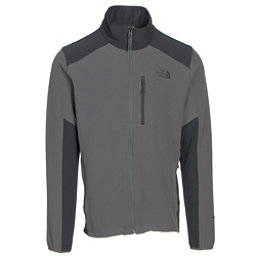 The North Face Apex Pneumatic Mens Soft Shell Jacket, Fusebox Grey-Asphalt Grey, 256