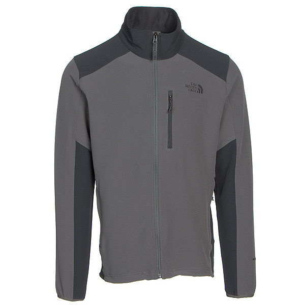 The North Face Apex Pneumatic Mens Soft Shell Jacket, Fusebox Grey-Asphalt Grey, 600