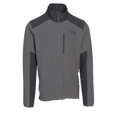 The North Face Apex Pneumatic Mens Soft Shell Jacket, Fusebox Grey-Asphalt Grey, viewer