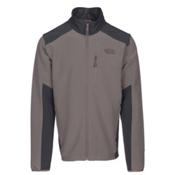 The North Face Apex Pneumatic Mens Soft Shell Jacket, Falcon Brown-Asphalt Grey, medium