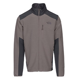 The North Face Apex Pneumatic Mens Soft Shell Jacket, Falcon Brown-Asphalt Grey, 256