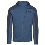 The North Face Tenacious Hybrid Hoodie Mens Jacket, Shady Blue-Urban Navy, medium