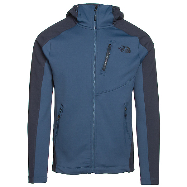 The North Face Tenacious Hybrid Hoodie Mens Jacket, Shady Blue-Urban Navy, 600