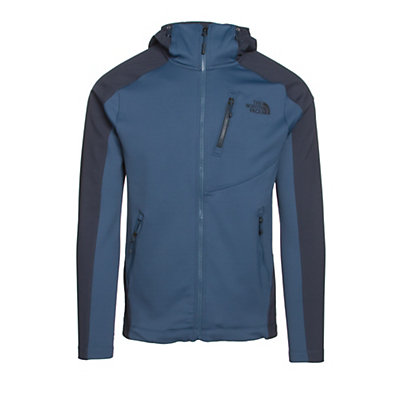 The North Face Tenacious Hybrid Hoodie Mens Jacket, Shady Blue-Urban Navy, viewer
