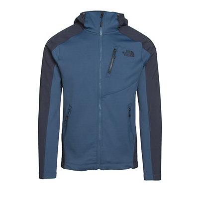 The North Face Tenacious Hybrid Hoodie Mens Jacket, Shady Blue-Urban Navy, viewer