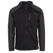 The North Face Tenacious Hybrid Hoodie Mens Jacket, TNF Black-Asphalt Grey, medium