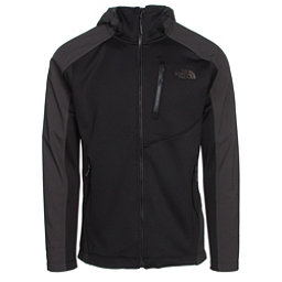 The North Face Tenacious Hybrid Hoodie Mens Jacket, TNF Black-Asphalt Grey, 256