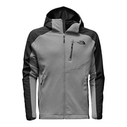 The North Face Tenacious Hybrid Hoodie Mens Jacket, Monument Grey-TNF Black, 256