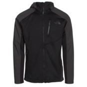 The North Face Tenacious Hybrid Hoodie Mens Jacket, TNF Black-Asphalt Grey, medium
