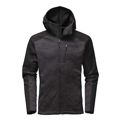 The North Face Tenacious Hybrid Hoodie Mens Jacket, TNF Black-Asphalt Grey, viewer