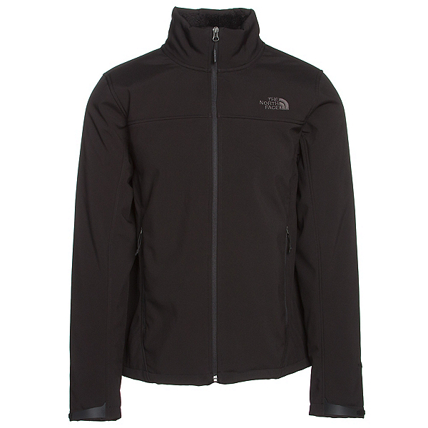 The North Face Apex Chromium Thermal Mens Soft Shell Jacket, TNF Black-TNF Black, 600