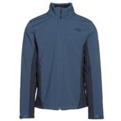 The North Face Apex Chromium Thermal Mens Soft Shell Jacket, Shady Blue-Urban Navy, medium