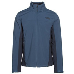 The North Face Apex Chromium Thermal Mens Soft Shell Jacket, Shady Blue-Urban Navy, 256