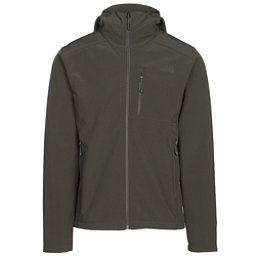 The North Face Apex Bionic 2 Hooded Mens Soft Shell Jacket, Rosin Green-Rosin Green, 256