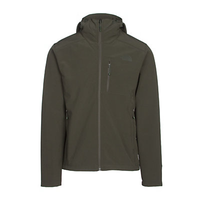The North Face Apex Bionic 2 Hooded Mens Soft Shell Jacket, Rosin Green-Rosin Green, viewer