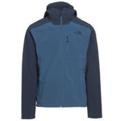 The North Face Apex Bionic 2 Hooded Mens Soft Shell Jacket, Shady Blue-Urban Navy, medium