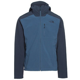 The North Face Apex Bionic 2 Hooded Mens Soft Shell Jacket, Shady Blue-Urban Navy, 256