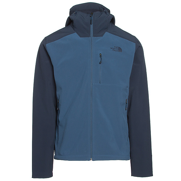 The North Face Apex Bionic 2 Hooded Mens Soft Shell Jacket (Previous Season), Shady Blue-Urban Navy, 600