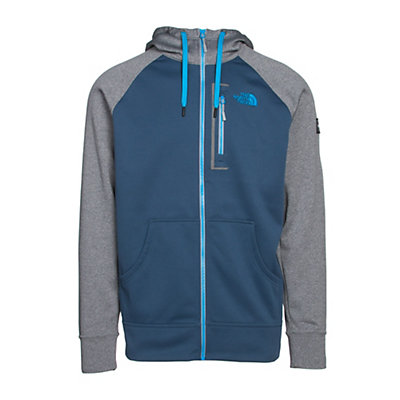 The North Face Mack Mays Full Zip Hoodie, Shady Blue-TNF Medium Grey Hea, viewer