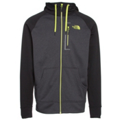 The North Face Mack Mays Full Zip Mens Hoodie, TNF Dark Grey Heather-TNF Blac, medium