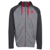 The North Face Mack Mays Full Zip Hoodie, TNF Medium Grey Heather-Asphal, medium